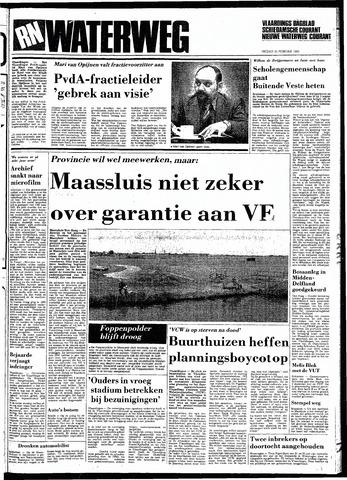 Rotterdamsch Nieuwsblad / Schiedamsche Courant / Rotterdams Dagblad / Waterweg / Algemeen Dagblad 1983-02-25