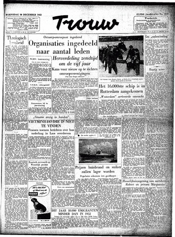 Trouw / De Rotterdammer 1953-12-30