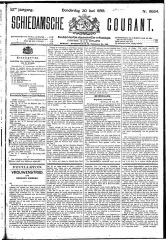 Schiedamsche Courant 1898-06-30