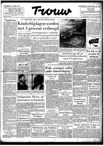 Trouw / De Rotterdammer 1957-05-25