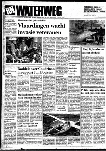 Rotterdamsch Nieuwsblad / Schiedamsche Courant / Rotterdams Dagblad / Waterweg / Algemeen Dagblad 1987-04-23