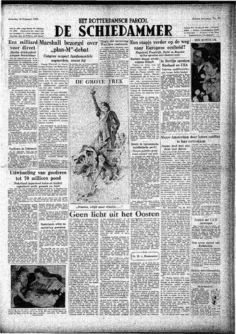 Rotterdamsch Parool / De Schiedammer 1948-02-14