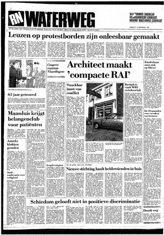 Rotterdamsch Nieuwsblad / Schiedamsche Courant / Rotterdams Dagblad / Waterweg / Algemeen Dagblad 1987-09-15