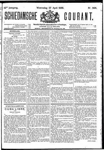 Schiedamsche Courant 1898-04-27