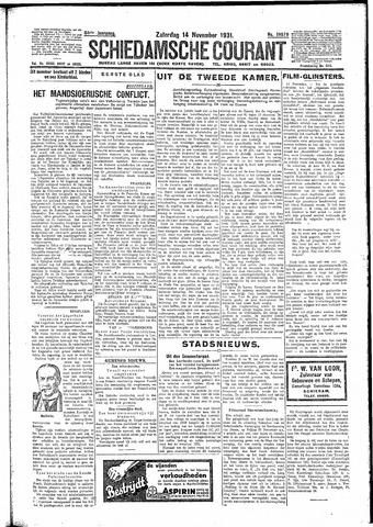 Schiedamsche Courant 1931-11-14