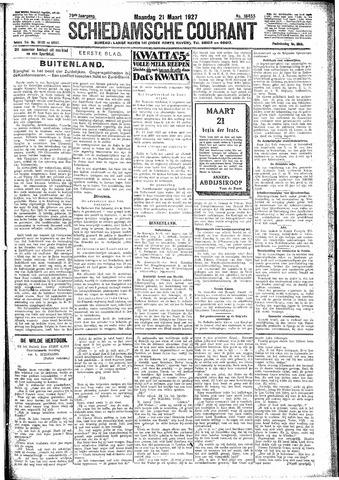 Schiedamsche Courant 1927-03-21