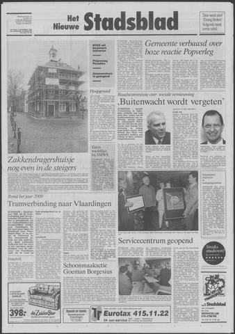 Het Nieuwe Stadsblad 1992-11-06