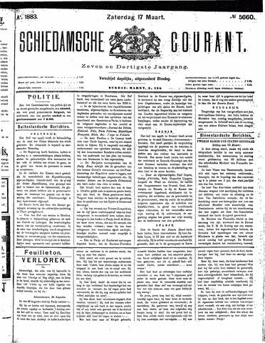 Schiedamsche Courant 1883-03-17
