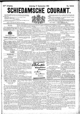 Schiedamsche Courant 1910-09-17