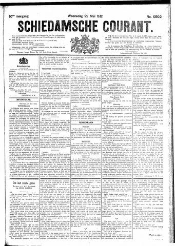 Schiedamsche Courant 1912-05-22