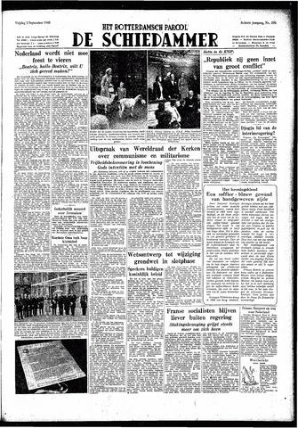 Rotterdamsch Parool / De Schiedammer 1948-09-03