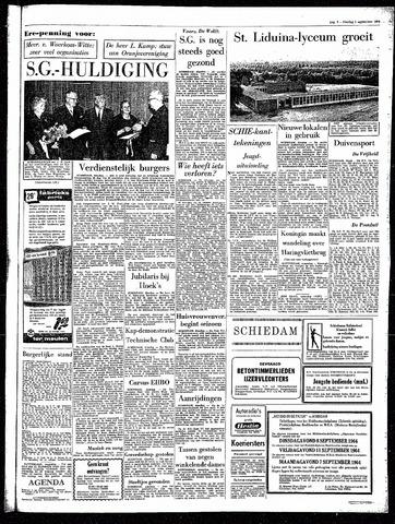 Rotterdamsch Parool / De Schiedammer 1964-09-01
