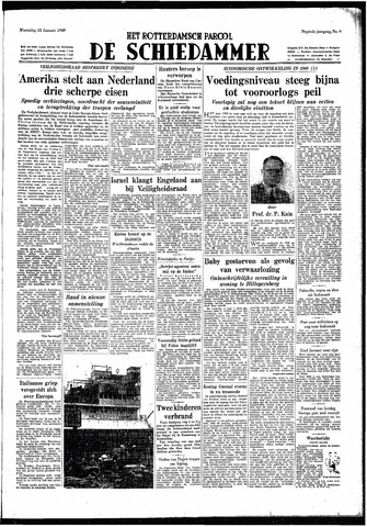 Rotterdamsch Parool / De Schiedammer 1949-01-12