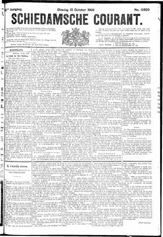 Schiedamsche Courant 1908-10-13