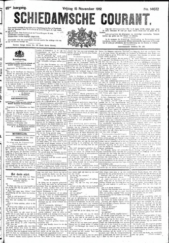 Schiedamsche Courant 1912-11-15