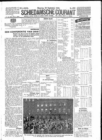 Schiedamsche Courant 1935-09-30