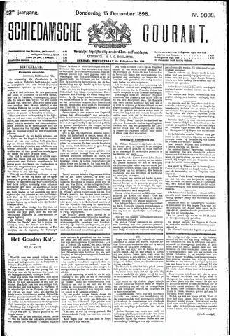 Schiedamsche Courant 1898-12-15