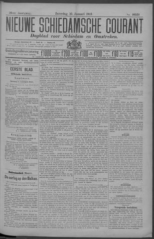 Nieuwe Schiedamsche Courant 1913-01-25
