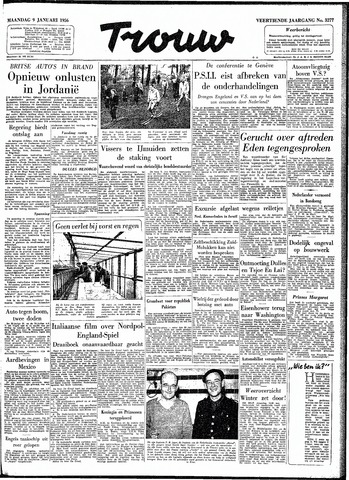 Trouw / De Rotterdammer 1956-01-09