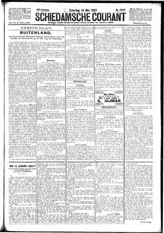Schiedamsche Courant 1927-05-14