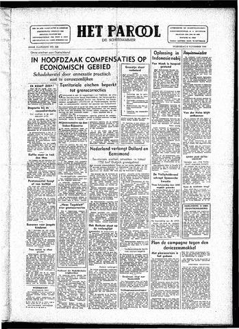 Rotterdamsch Parool / De Schiedammer 1946-11-06