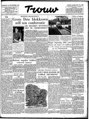 Trouw / De Rotterdammer 1953-11-14