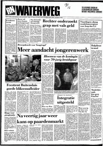 Rotterdamsch Nieuwsblad / Schiedamsche Courant / Rotterdams Dagblad / Waterweg / Algemeen Dagblad 1987-12-29