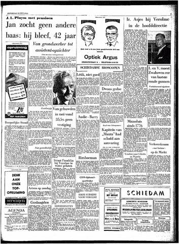 Rotterdamsch Parool / De Schiedammer 1963-07-20