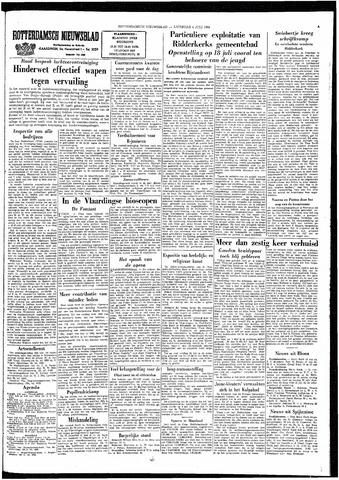 Rotterdamsch Nieuwsblad / Schiedamsche Courant / Rotterdams Dagblad / Waterweg / Algemeen Dagblad 1964-07-04