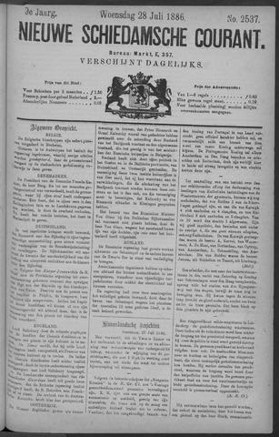 Nieuwe Schiedamsche Courant 1886-07-28