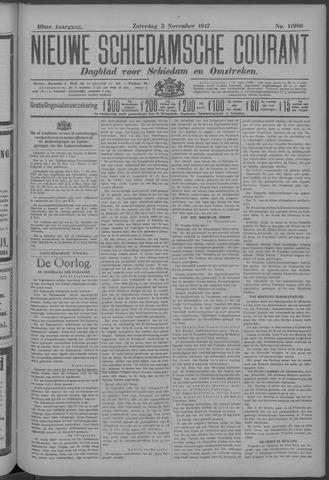 Nieuwe Schiedamsche Courant 1917-11-03