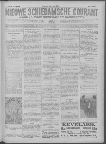 Nieuwe Schiedamsche Courant 1929-06-15