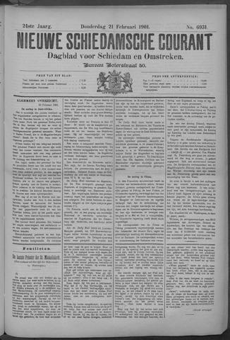 Nieuwe Schiedamsche Courant 1901-02-21