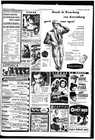 Rotterdamsch Nieuwsblad / Schiedamsche Courant / Rotterdams Dagblad / Waterweg / Algemeen Dagblad 1953-04-16