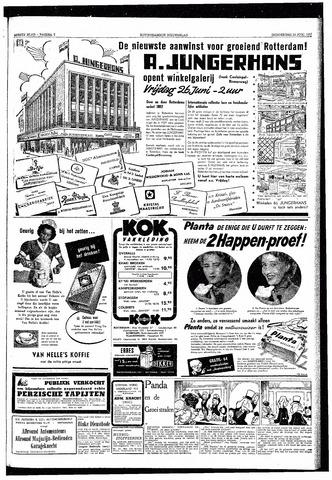 Rotterdamsch Nieuwsblad / Schiedamsche Courant / Rotterdams Dagblad / Waterweg / Algemeen Dagblad 1953-06-25