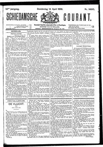 Schiedamsche Courant 1898-04-14