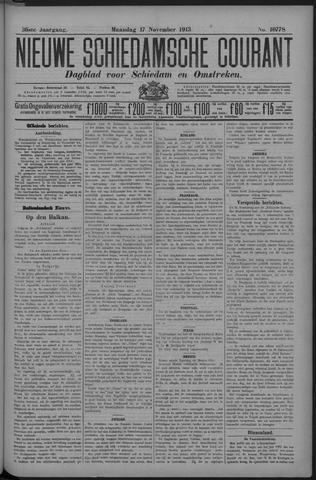 Nieuwe Schiedamsche Courant 1913-11-17