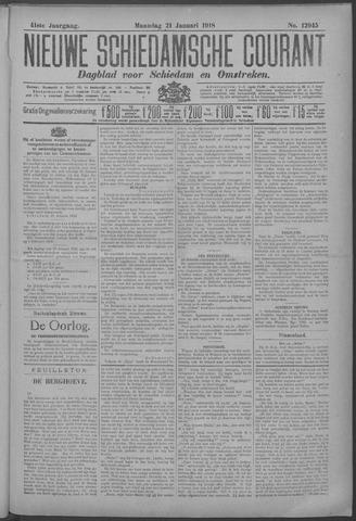 Nieuwe Schiedamsche Courant 1918-01-21