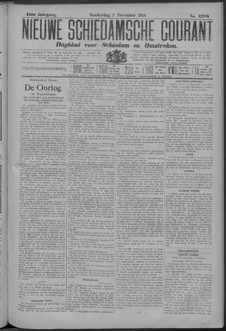 Nieuwe Schiedamsche Courant 1918-11-07