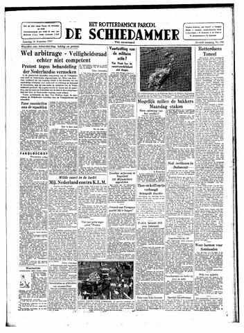 Rotterdamsch Parool / De Schiedammer 1947-08-16