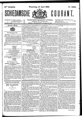 Schiedamsche Courant 1898-04-13