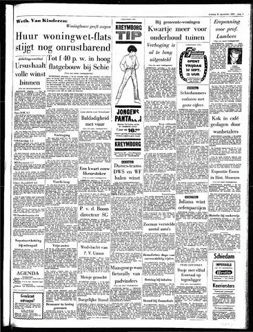 Rotterdamsch Parool / De Schiedammer 1964-09-22