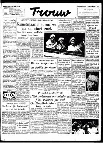 Trouw / De Rotterdammer 1959-06-04