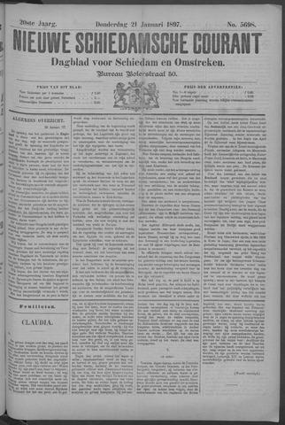 Nieuwe Schiedamsche Courant 1897-01-21