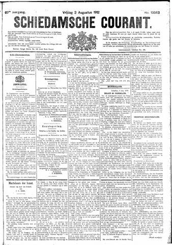 Schiedamsche Courant 1912-08-02