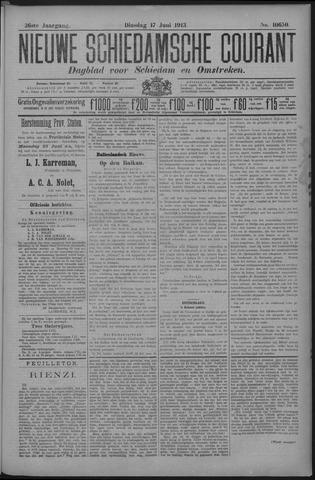 Nieuwe Schiedamsche Courant 1913-06-17