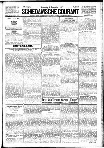 Schiedamsche Courant 1927-11-02