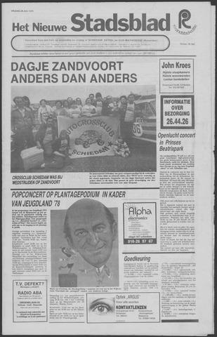 Het Nieuwe Stadsblad 1978-07-28