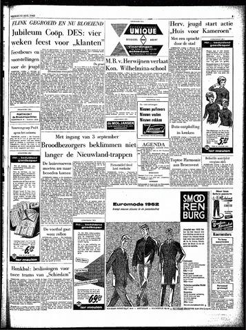 Rotterdamsch Parool / De Schiedammer 1962-08-31
