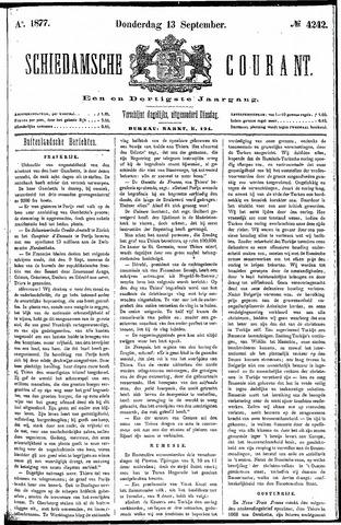 Schiedamsche Courant 1877-09-13